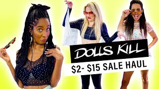 Buying the Cheapest Clothes from Dolls Kill!