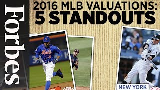 MLB Valuations 2016: 5 Standouts