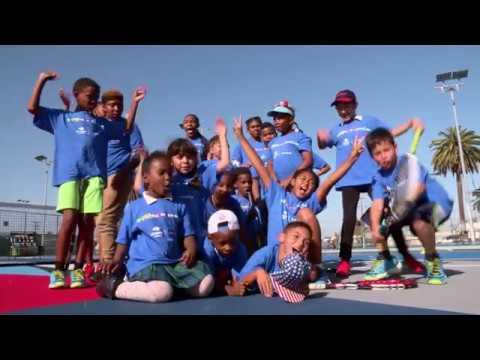 US Open Art Courts X Chase: Harvard Park Los Angeles Recap