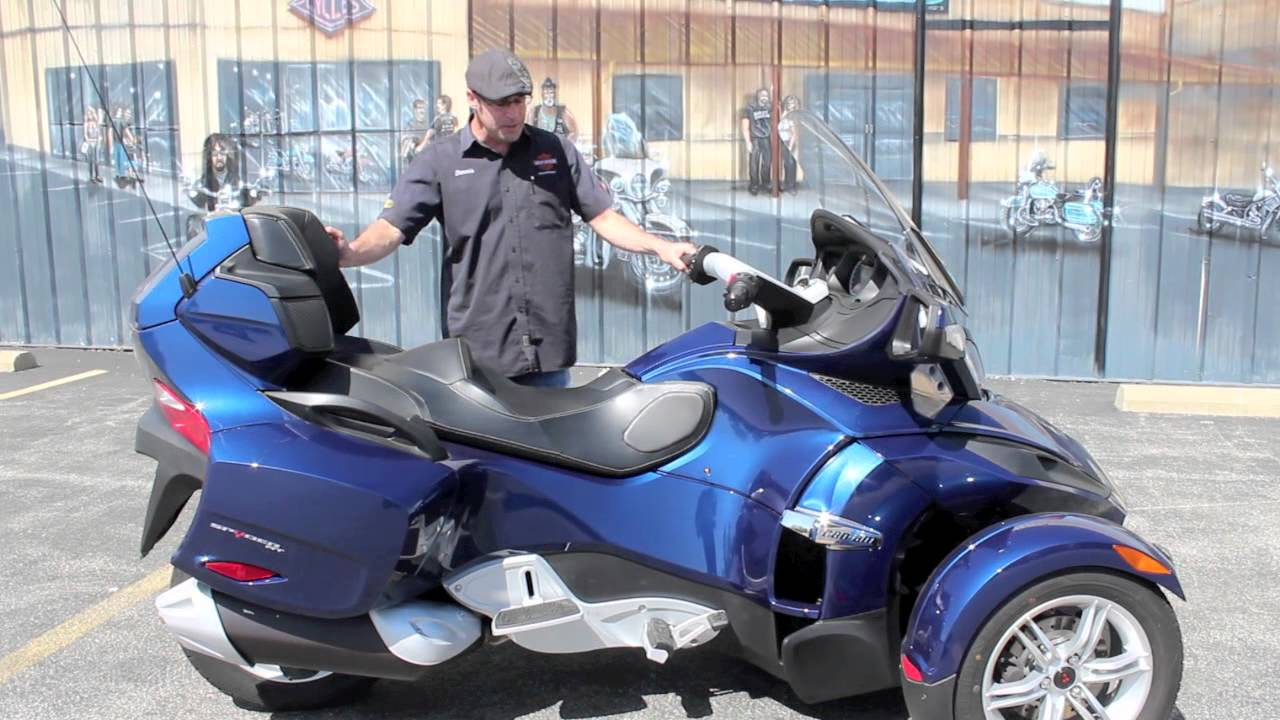 Pre owned 2011 can am spyder rt