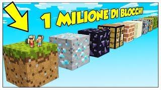IL PARKOUR DA NOOB A PRO PIÙ GIGANTE DEL MONDO! - Minecraft ITA