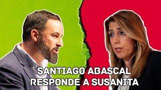 Santiago Abascal responde a Susana Diaz tras acusar a VOX de