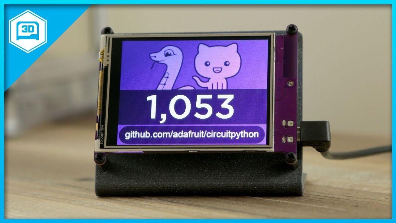 Adafruit PyPortal - CircuitPython Powered Internet Display ID: 4116