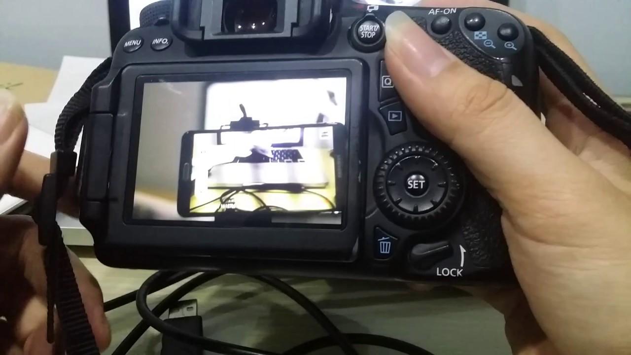 Hướng dẫn kết nối cáp otg ios với máy ảnh