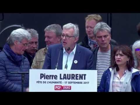 Grand meeting de Pierre Laurent - fête de l'Humanité 2017