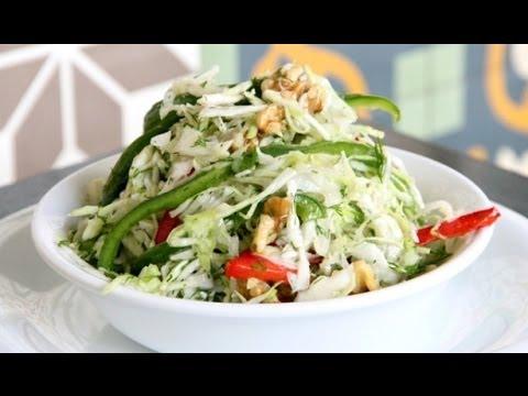 Капустный салат и острый салат из черри - рецепты Уриэля Штерна