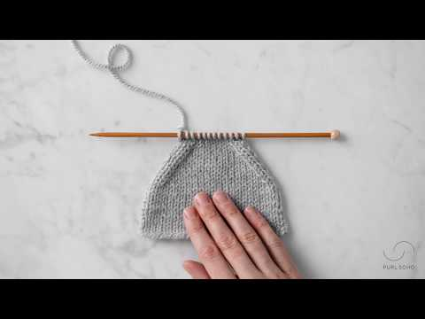 Purl 2 Together + Slip Slip Purl Tutorial | Purl Soho