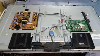 TV LG 39LB5600 sem imagem trocando os leds 6V 2W.