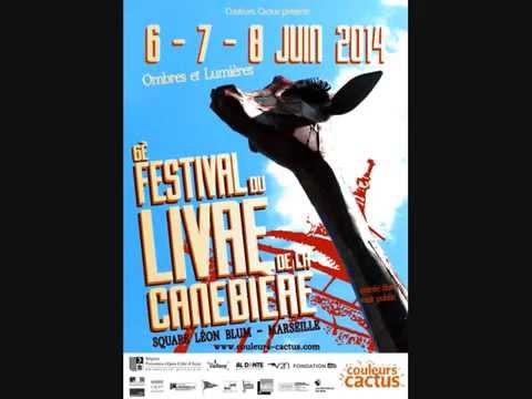 6è FESTIVAL DU LIVRE DE LA CANEBIÈRE, Interview Radio Galère, Marseille