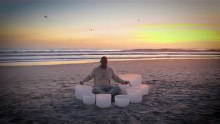 Neptune Beach Sunrise Singing Bowl Session