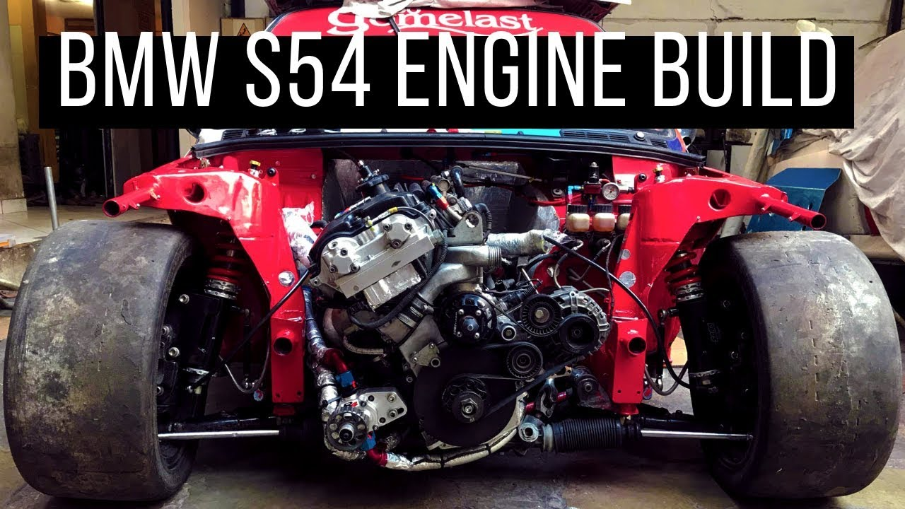 Bmw S54 Engine Build  Said Saba  - Saba Motorsports