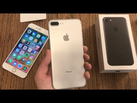 apple iphone 7 plus setup and first impressions youtube. Black Bedroom Furniture Sets. Home Design Ideas