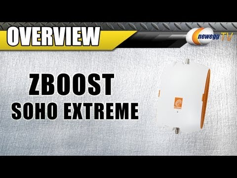 Newegg TV: zBoost SOHO Xtreme Cell Booster Kit Overview
