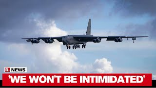 US Deploys B-52 Bombers In South China Sea Drill