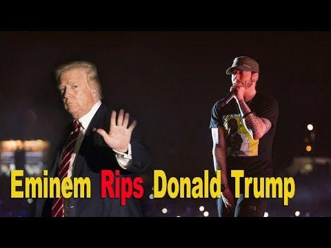 Eminem hip hop awards Freestyle Snoop dogg reaction -  Eminem RIP Donald Trump cypher BET AWARDS 2