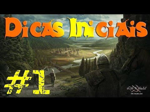 Life is Feudal #1 Dicas Iniciais Gameplay Guia de Sobrevivência PT-BR