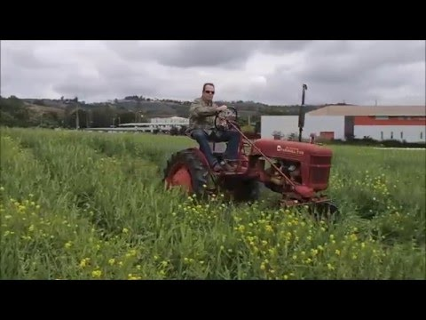Cal Poly Strawberry Festival Tractor driving Video By Lance Wilson, 2016