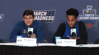 News Conference: Duke Second Round Preview