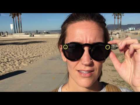 Hands on with Snap Inc.'s Spectacles