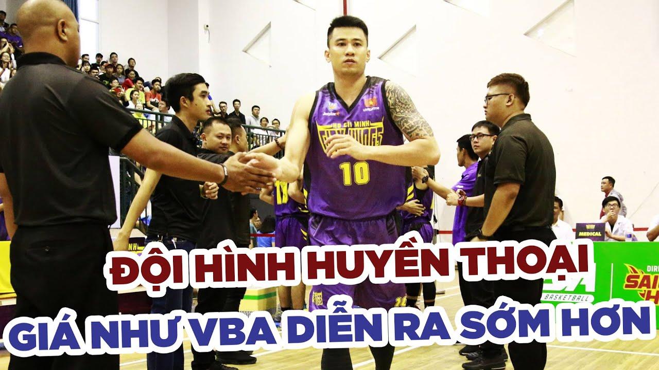 Đội hình huyền thoại giá như VBA xuất hiện sớm hơn của bóng rổ Việt Nam