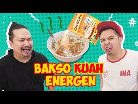 BAKSO KUAH ENERGEN !! with Nex Carlos Wkwkwkwk #EGY Enak Gak Ya!?
