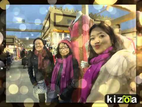 Kizoa Online Movie Maker: Around the world with Dongsaeng Alerose & Isabel