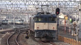 EF64-20号機+浪漫+EF64-42号機 国鉄色プッシュプル 貨物機関車と旅客機関車の珍補機 JR篠ノ井線を行く 2008年頃 HDV 1150