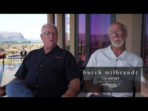 Milbrandt Evergreen Vineyard Tour in Washington Wine Country