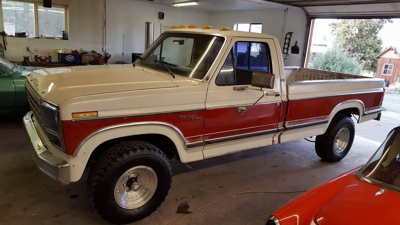 1981 Ford F150 >> 1981 Ford F150 4 4 With 351ci V8 Youtube