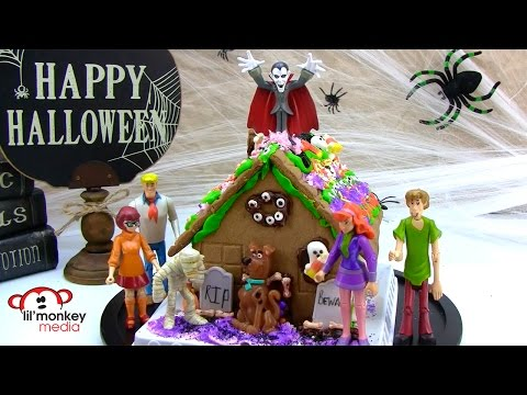 How to Create a Scooby Doo Haunted Gingerbread House!