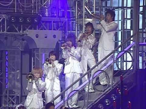 041231  DBSK TVXQ 東方神起 동방신기   Top10 Singers awards all Stars all you need is love