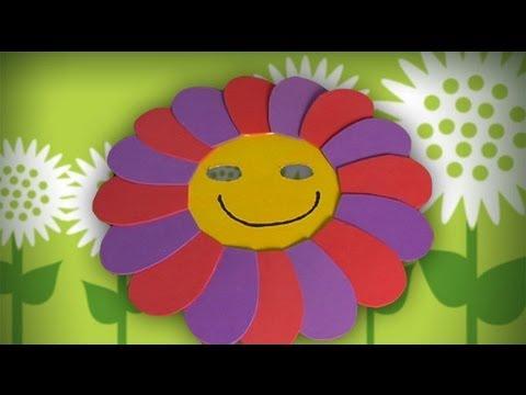 M scara de flor manualidades de disfraces para carnaval - Difraces para carnaval ...
