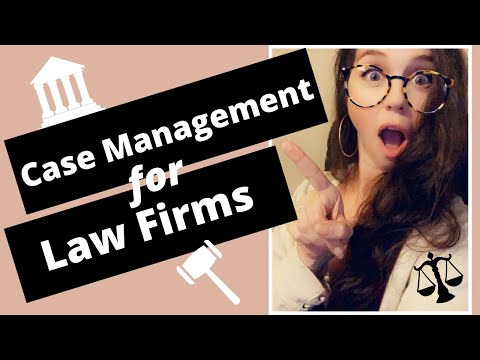 PARALEGAL Versus LAW FIRMS: Case Management For Law Firms
