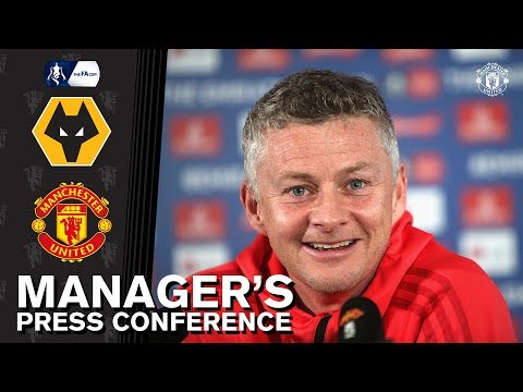 Manager's Press Conference   Wolves v Manchester United   Ole Gunnar Solskjaer
