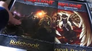 Unboxing Darklight: Memento Mori by Dark ice Games
