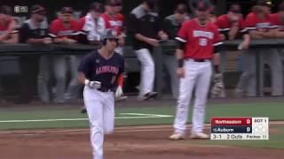 Auburn Baseball vs Northeastern Game 2 Highlights