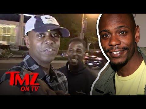 Dave Chapelle Faces His Worst Nightmare | TMZ TV