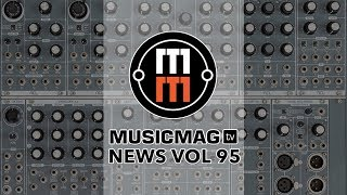 MUSICMAG TV NEWS #95: синтезатор из лампы IKEA, экскурсия на завод Behringer, Reason Intro и др.
