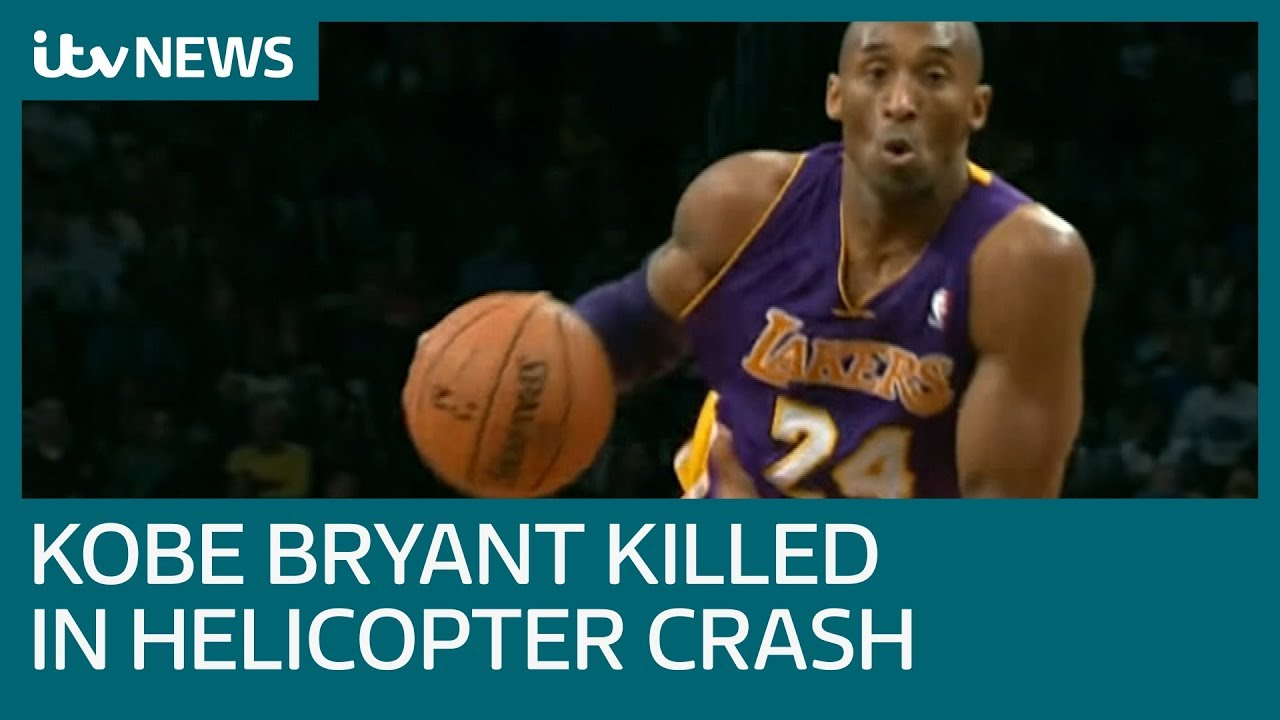 US basketball legend Kobe Bryant killed in helicopter crash | ITV News