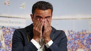 Acte de comiat del FC Barcelona a Xavi Hernández