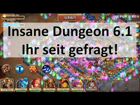 CC #45 Best Try Insane Dungeon 6.1 40% By Hunted Castle Clash | Schloss Konflikt