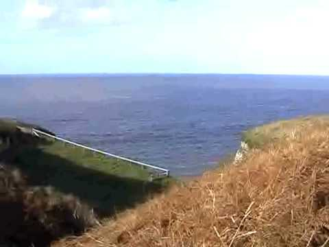 Proposed DANGEROUS Coastal Path at Gwbert, Ceredigion