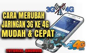 cara merubah sinyal 3gh ke 4g pada android tutorial
