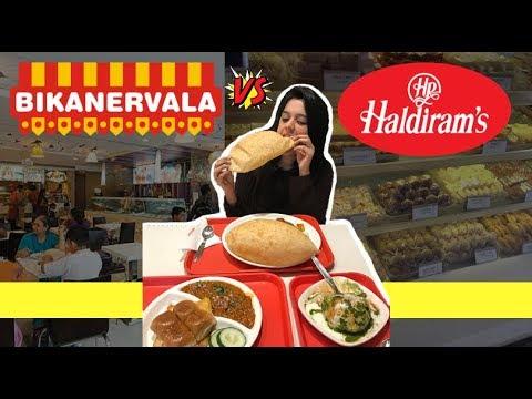 Haldiram Vs Bikanervala | The Ultimate Veg Food Battle