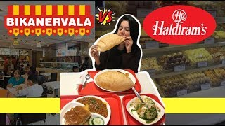 Haldiram vs Bikanervala | The Ultimate Veg Food Battle