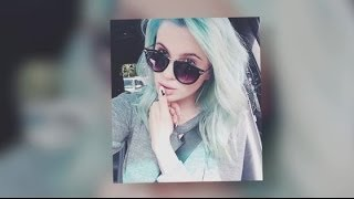 Ireland Baldwin's Hair Goes From Purple To Blue | Splash News TV | Splash News TV