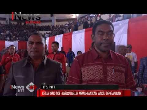 INews NTT - Ketua KPUD TTS Sayangkan Paslon Bupati Tidak Gunakan Waktu Debat Dengan Baik
