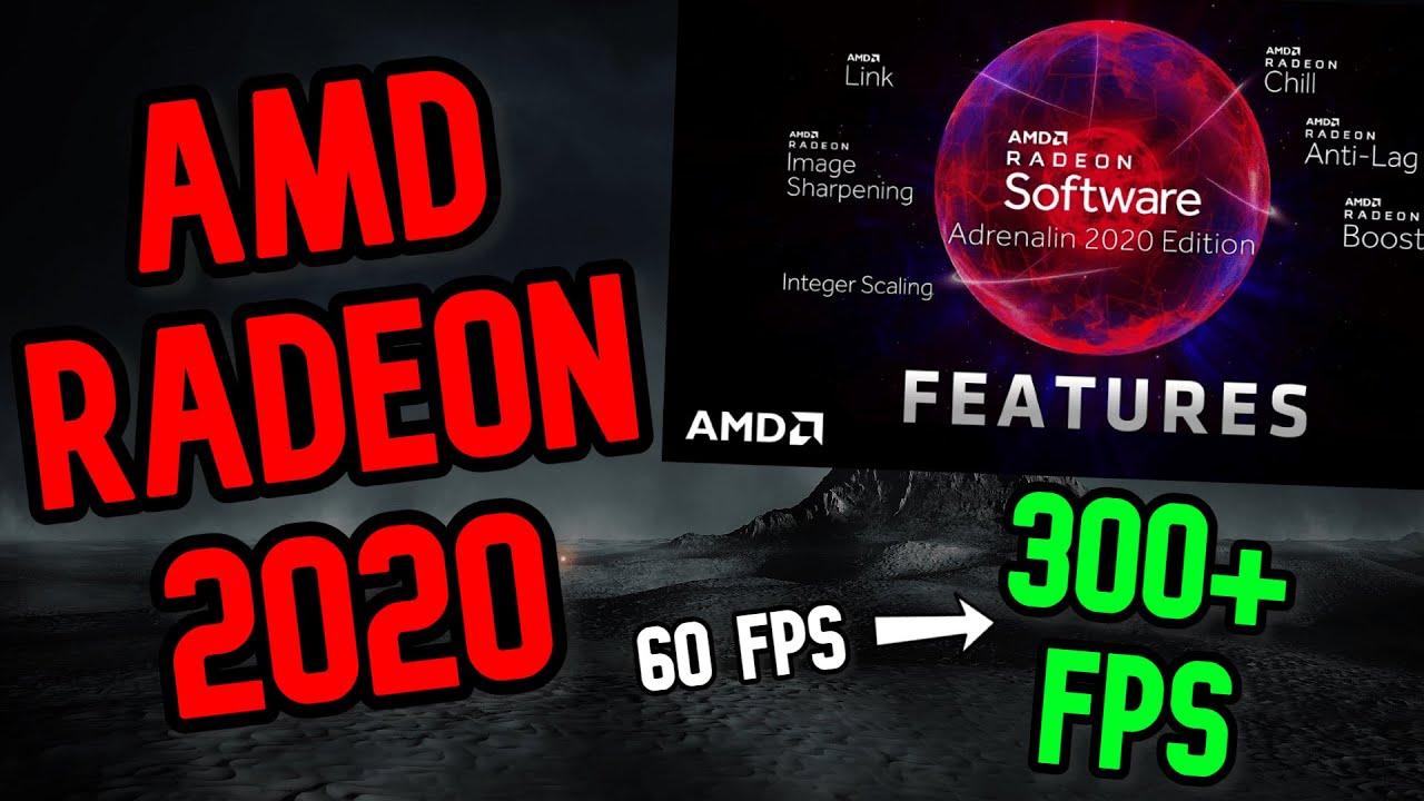New Amd Radeon 2020 Settings Gpu Overclock Boost Fps Fortnite Youtube