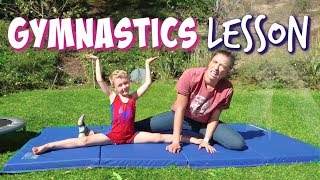Gymnastics Lesson w/ Rachel Ballinger