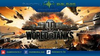 World of Tanks pristatymas